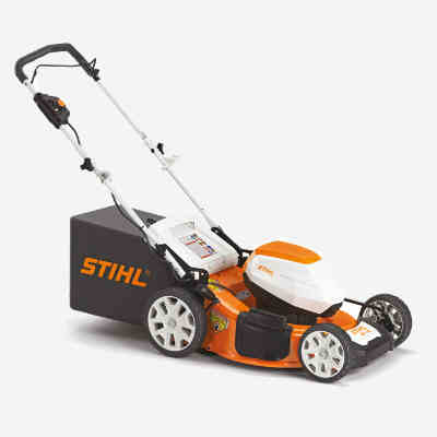 stihl rma 510 cordless electric lawn mower the eardly t petersen company